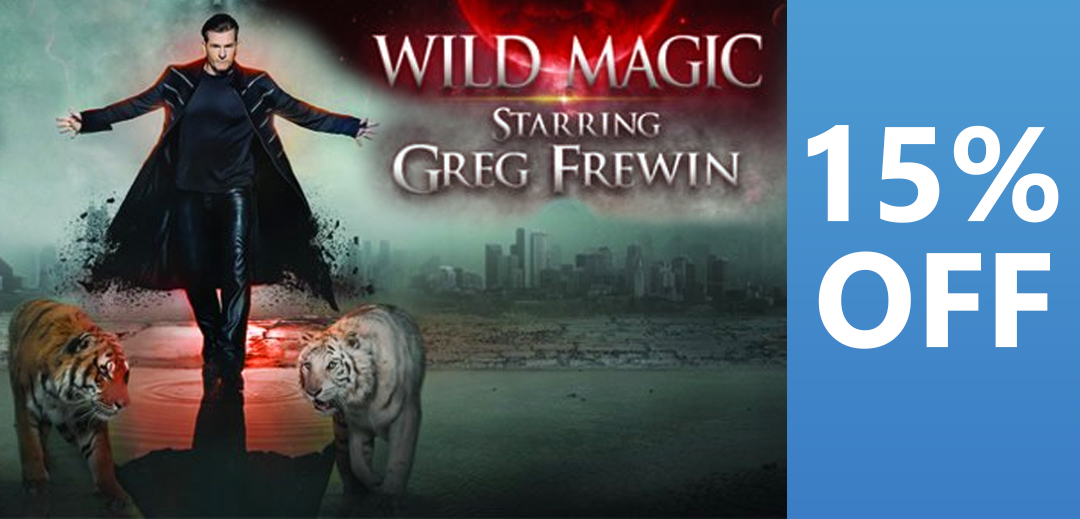 Greg Frewin 15 percent off